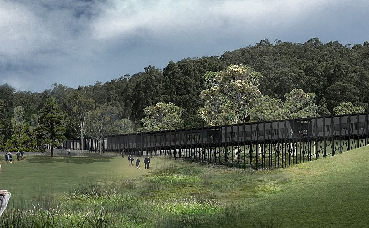 Design revealed for Arthur Boyd's Riversdale property